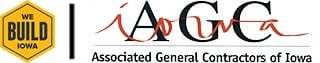 AGC of Iowa | We Build Iowa logo