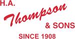 H. A. Thompson & Sons logo