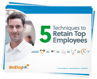 5 Techniques to Retain Top Employees cover