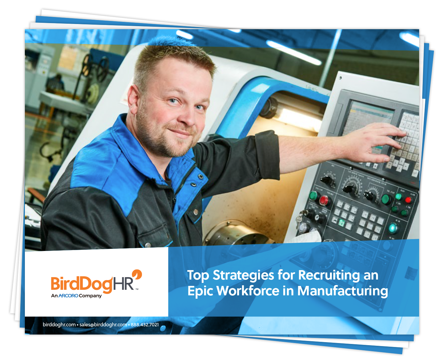Top Strategies for Recruiting an Epic Workforce in Manufacturing whitepaper