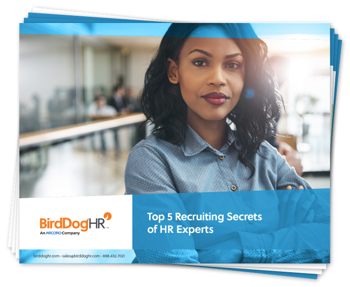 Top 5 Recruiting Secrets of HR Experts whitepaper